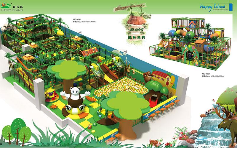 Forest Theme Park Playground