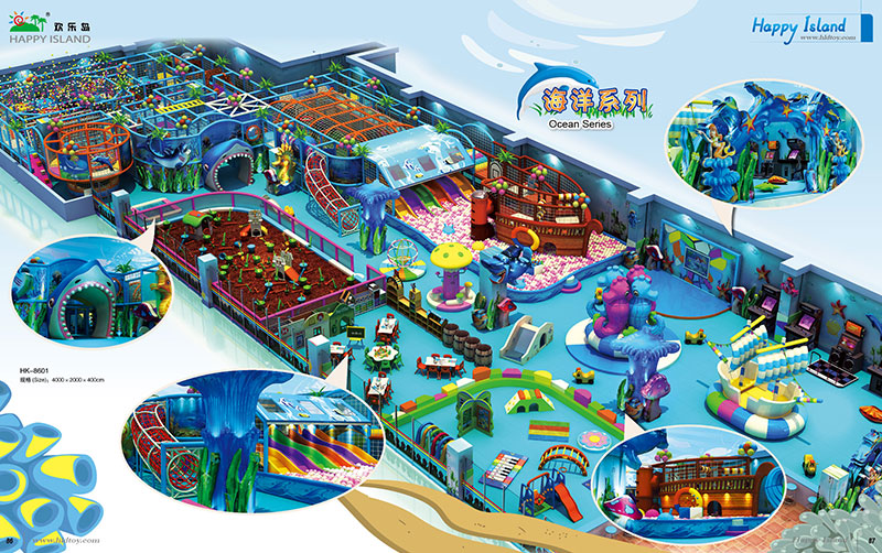 Ocean Theme Park Playground OEM ODM