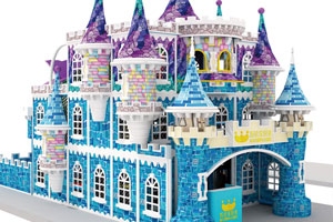 Customizable Snow World Theme Playground Castle For Sale