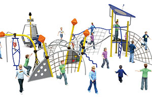 Climbing Net Slides Climbers Outdoor Playground Equipment For