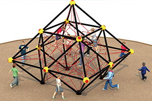 Rope Nets Climbers Playground Equipment Manufactures