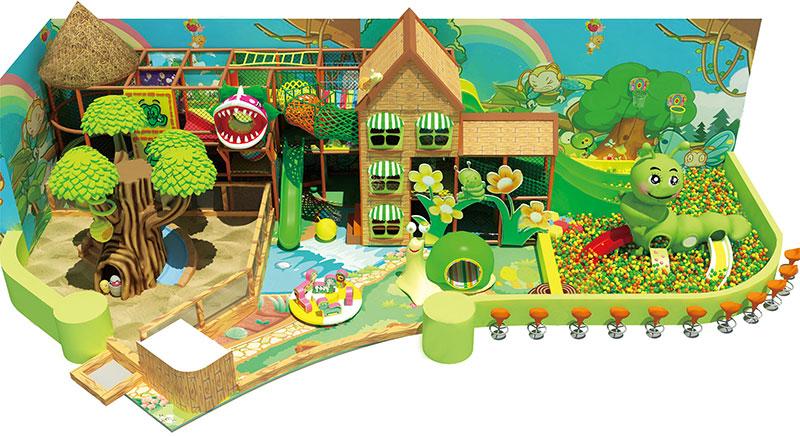 Forest Theme Playground Equipment Customization