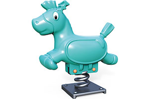 Outdoor Playground Cheap Price Rocking Horse Wholesale