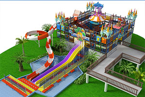 Water Playground House Aqua Park Equipment Manufacturer